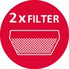 2 въглеродни филтри