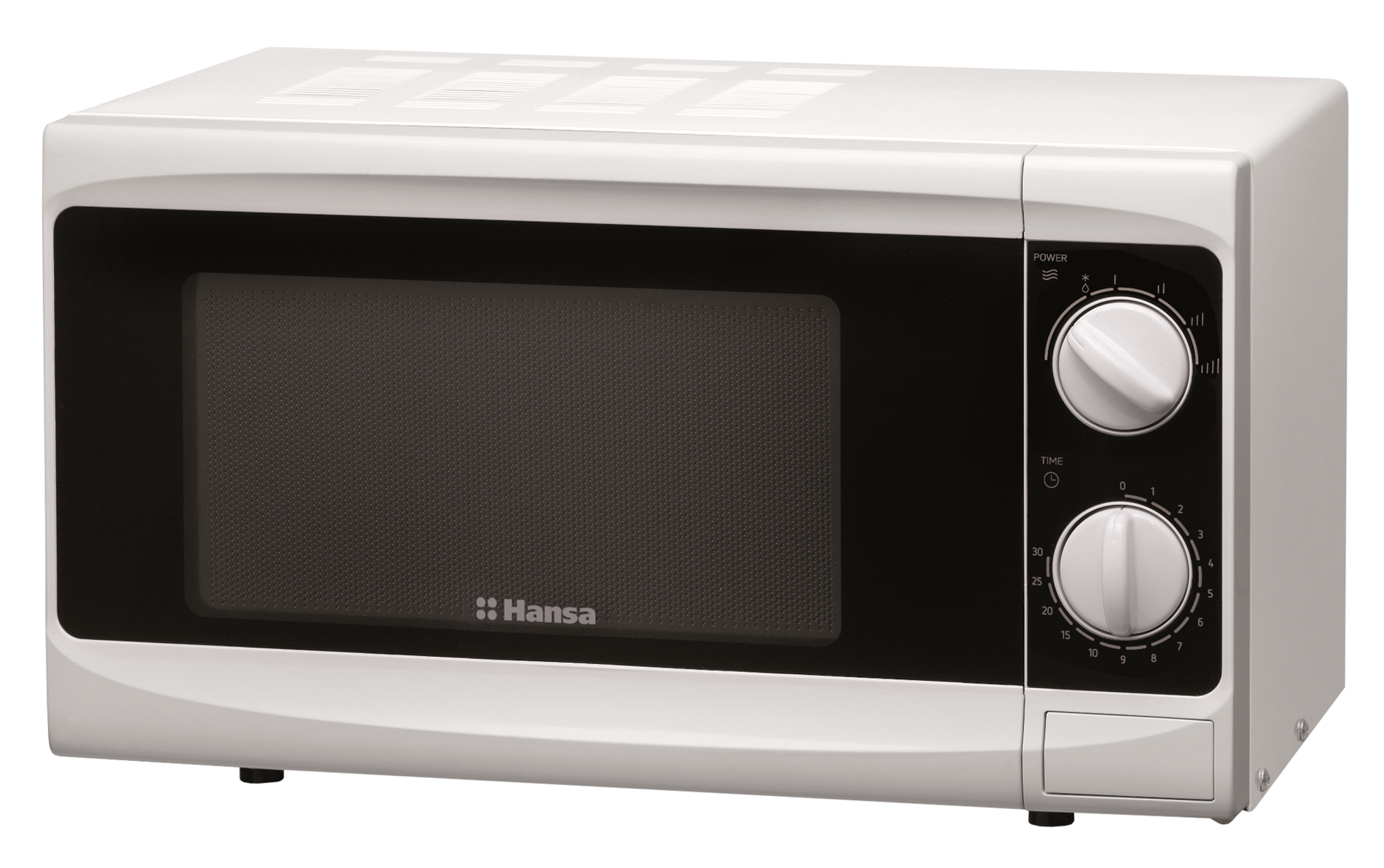 Freestanding microwave oven